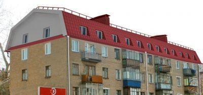 Надстройка мансардного этажа в многоквартирном доме