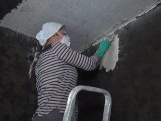 Как очистить стены после пожара?
