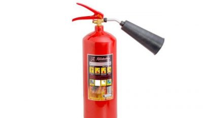 Переносные малолитражные огнетушители содержат огнетушащее вещество