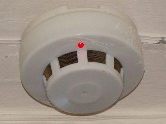 Пожарная сигнализация в деревянном доме