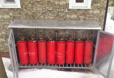 Эксплуатация газовых баллонов зимой