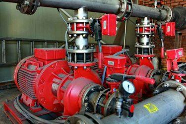 Насосы повысители для пожарного водопровода