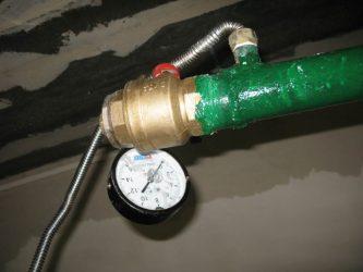 Гидравлические испытания пожарного водопровода