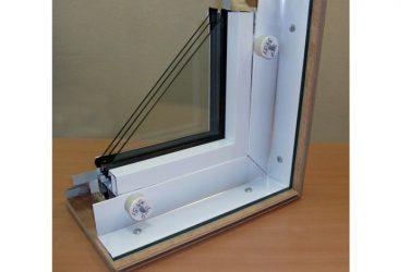 Легкосбрасываемые конструкции окна ПВХ